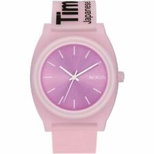 Nixon Women's Time Teller P A1193170-00 40mm Pink Dial Rubber Watch