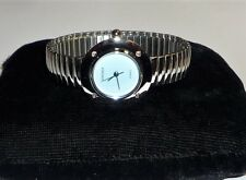 Sekonda Ladies Silver Stretch Bracelet Quartz Watch With Blue Face wristwatch