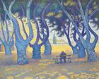 Place Des Lices St Tropez France Paul Signac Fine Art Print Canvas Painting 8x10