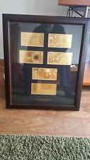Mooie Collage Gouden Guldenbiljetten Met Certificaat