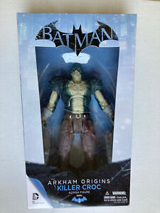 Arkham Origins Killer Croc Deluxe Action Figure - Free USA Shipping!