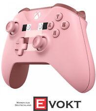 Xbox Wireless Bluetooth Controller Minecraft Pig Pink Genuine New