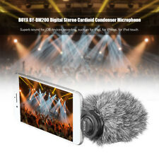 BOYA BY-DM200 Digital Stereo Cardioid Condenser Microphone For iOS Device iPhone