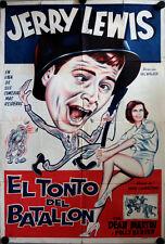 Der Prügelknabe Filmplakat ARGENTINIEN The Stooge Dean Martin Jerry Lewis Bergen