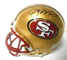 Joe Montana HOF Signed Autographed MINI Football Helmet San Francisco SF 49ers
