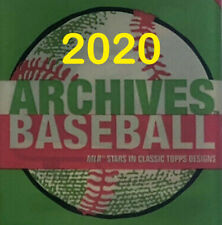 2020 Topps Archives Singles - You Pick - Complete your set