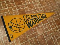 NBA Golden State Warriors Vintage Circa 1970's Team Logo* Basketball Pennant*