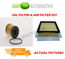 PETROL SERVICE KIT OIL AIR FILTER FOR ALFA ROMEO MITO 1.4 155 BHP 2008-