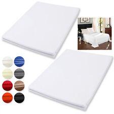 2x Bettlaken Tagesdecke Bettdecke Bett Sofa Überwurf Weiss 150x240cm BW5001ws-2