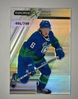 2020-21 UD Synergy FX #FX-22 Brock Boeser /749 - Vancouver Canucks