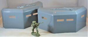 BMC WWII German Pillbox Bunker - Set of 2