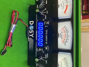 Dosy TFC-3001-S Wattmeter w/ frequency counter