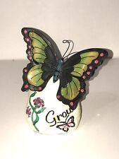 Butterfly Plaque - GROW
