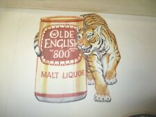 "Vintage Original Artwork ""Olde English 800 Malt Liquor"" KCS Industries."