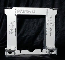 Prusa i3 Rework Aluminium composit panel Frame + Heated Bed Support Y carriage
