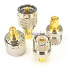 4pcs PL259 UHF Connector Kits SO239 SMA Male Female Antenna Plug Adapter Coaxial