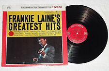 FRANKIE LAINE-Greatest Hits (1962) Stereo COLUMBIA LP