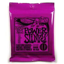 Ernie Ball 2220 Power Slinky Cordes pour guitare électrique 11-48