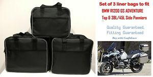 PANNIER LINER BAGS INNER BAGS SIDE &TOP BAGS FOR BMW R1200GSA &F800GSA ADVENTURE