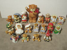 Enesco Lucy & Me Lot Of 19 Bear Figurines