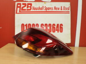 VAUXHALL ASTRA J MK 09-15 DRIVER SIDE REAR O/S/R TAIL LIGHT 13306460