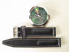 Mechanical watch Raketa Antarctica penguins 24 h holo metallic dial, 39 mm.