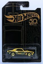 Hotwheels 50th Anniversary limited edition '67 Camaro black and gold
