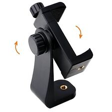 IPOW Universal Cell Phone Tripod Mount/Vertical Bracket Holder Adapter Clamp for
