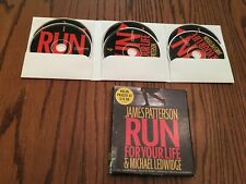 James Patterson Audio Book: Run for your Life: 6 CDs