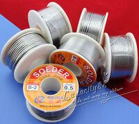 63/37 Tin/lead Rosin Core 0.5-2mm 2% Flux Reel Welding line 11G/100G Solder Wire