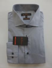 Ben Sherman Shirt Mens Size 16-16.5 34/35 Gray Slim Stretch Dress Shirt New