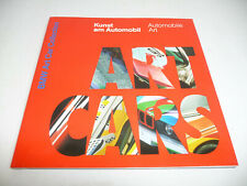 BMW ART CAR BOOKLET for the ART CARS models 1:18 MINICHAMPS only BOOKLET