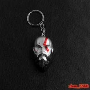 Hot Game God of War Character Kratos Alloy Key Chains Keychain Keyfob Keyring