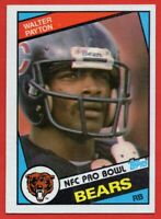 1984 Topps #228 Walter Payton EX-EXMINT+ Chicago Bears Hall of Fame FREE S/H