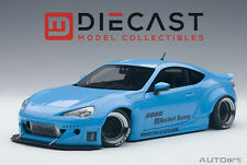 AUTOART 78758 ROCKET BUNNY TOYOTA 86 (METALLIC SKY BLUE/BLACK WHEELS) 1:18TH