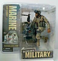 McFarlane's Military Action Figure Redeployed 2 Marine Saw Gunner Sealed