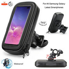 Case For All Samsung Galaxy Motor Bike Bicycle 360° Waterproof Phone Holder Bag