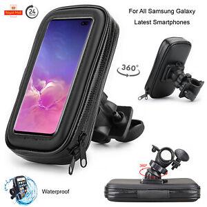 Case For All Samsung Galaxy Motor Bike Bicycle 360° Waterproof Phone Holder Bag