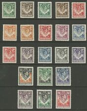 Northern Rhodesia GVI 1938 Full set mint cat val £250