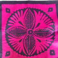 Luxury Batik Painted Cotton Hand Made Cushion/Pillow Case Cover 24 x 24 Inches