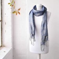 Écharpes et châles bleu avec des motifs Géométrique pour femme   eBay 356ad0e5cd2