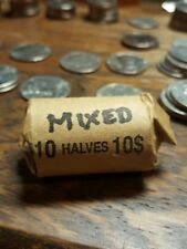 Circulated Roll Of 1971 to 2001 Kennedy Half Dollars 20 Coins mixed dates