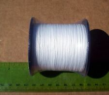 550yds (500m) SUPERLINE 50lb test WHITE Braid Fishing Line,Durable & Strong,
