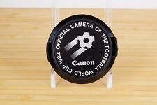 Canon 1982 Football World Cup 52mm Front Lens Cap - Official Camera - Soccer