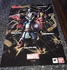 New York Comic Con Exclusive Marble Samurai Glossy Poster RARE!!
