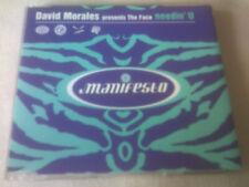 DAVID MORALES - NEEDIN' U - MANIFESTO HOUSE CD SINGLE
