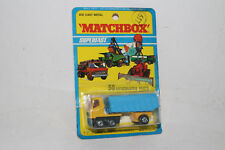 MATCHBOX SUPERFAST #50 ARTICULATED TRACTOR TRAILER DUMP TRUCK, NEW IN PACK