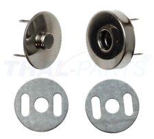 10 Stück Magnetverschluss Ø 15mm Magnetschloss Magnetknopf Taschenverschluss
