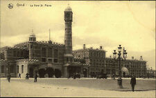 Gent Gand Belgien Belgium AK ~1910 Gare Saint St. Pierre Bahnhof Railway Station