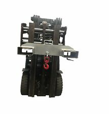 Forklift Crane Hook Jib Attachment 2000KG Capacity Galvanized Sydney Stock